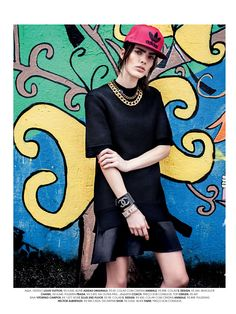visual optimism; fashion editorials, shows, campaigns & more!: hip street: camila gamallo by gustavo marx for marie claire brasil february 2014