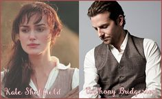 The Viscount Who Loved Me - Julia Quinn Dream cast: Kiera Knightley as Kate Sheffield, Bradley Cooper as Anthony Bridgerton So perfect <3