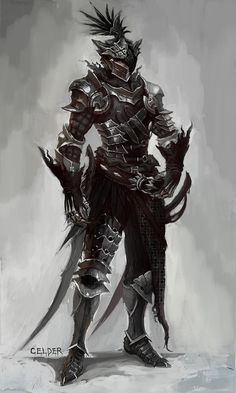 Nighthawk Armor Concept Vindictus Art