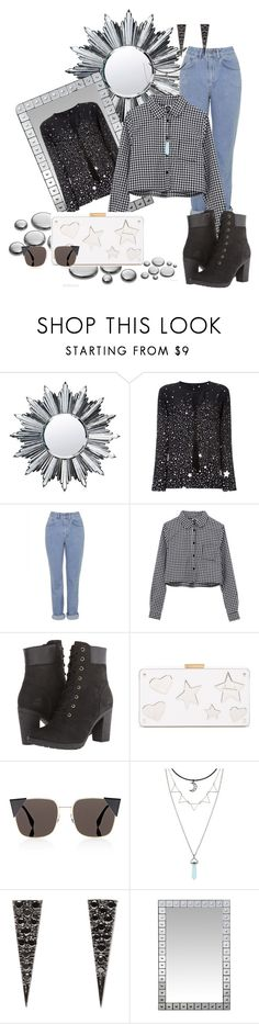 """Sem título #622"" by iviny-167 on Polyvore featuring moda, Baccarat, Barbara Bui, The Ragged Priest, Timberland, Lanvin, Fendi e Eva Fehren"