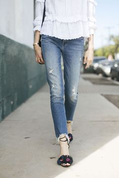 This pair of denim is what every girl needs.