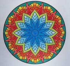 Mandala kirjasta: Väritä itsellesi mielenrauhaa Mandala, Plates, Tableware, Kitchen, Licence Plates, Dishes, Dinnerware, Cooking, Griddles