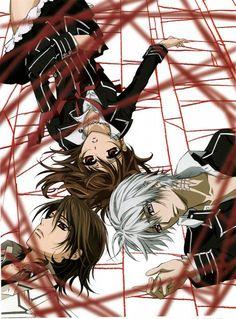 Zero Kiryu,Kaname Kuran,Yuki Kuran(Yuki Cross) - Vampire Knight Anime