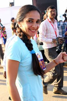 Tara Sharma at Women's half marathon. #Style #Bollywood #Fashion #Beauty #Page3