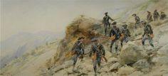 Les Diables Bleus - the 21st Regiment of the Chasseurs Alpins