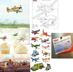 For my little aviators  :-)  // Disney's Planes coloring pages, printables and activities for kids