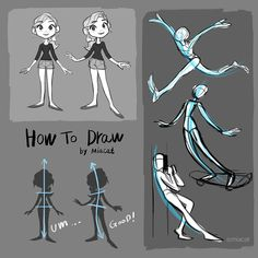 How to draw character and Anatomy