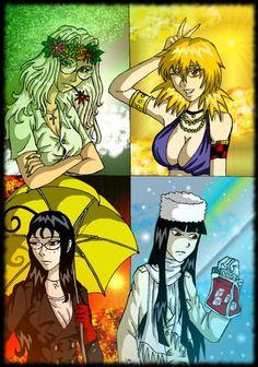 Времена года Хеллсинг Rip Van Winkle, Rwby, Anime, Manga, Art, Funny Stories, Art Background, Kunst, Cartoon Movies
