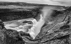 Gullfoss Waterfall, South-West