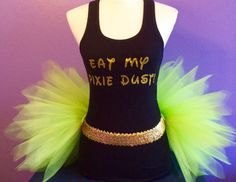Tinkerbell Running Outfit Fairy Tutu Set by ShellyRioBoutique