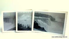 Set of Three Photos of Niagara Falls Vintage by RedLittleVintage, $9.00
