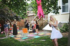 backyard bachelorette party
