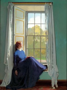 Sir William Orpen, The Window Seat (1901)