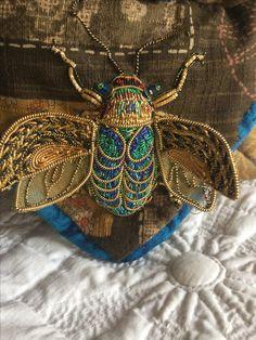 Goldwork Beetle Book(l evans?) MagpieGoldwork
