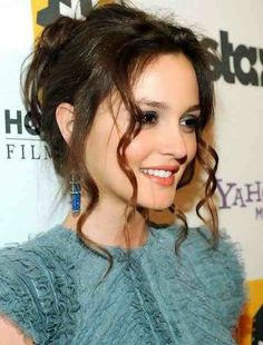 Leighton Meester Hairstyles 2014