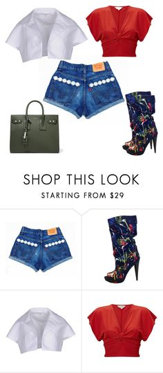 """""""Untitled #66"""" by glamgurl32 ❤ liked on Polyvore featuring Carven, Miss Selfridge and Yves Saint Laurent"""