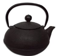 Traditional Japanese & pot made from cast iron. The cast-iron body of the tea pot ensures that tea stays warmer for longer. The tea pot has an infu Japanese S, Traditional Japanese, Tea Warmer, Cast Iron, Tea Pots, Black, Black People, Tea Pot, Tea Kettles