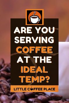 Part of what makes the perfect cup of coffee so great is the temperature that it is served at. However, you should also pay attention to the temperature of the water you use to brew the coffee! We cover both of those here. #littlecoffeeplace #bestcoffeetemperature #coffee #perfectcoffee Aeropress Coffee, Little's Coffee, Pour Over Coffee, Coffee Drinks, Coffee Brewing Methods, Fresh Roasted Coffee, Coffee Facts, Living On The Edge, Distinguish Between