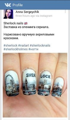 I'm not one for nail painting... But you have to admit... This is freaking awesome.