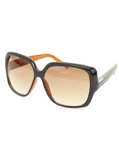 0e58d42f0d6 Wide Style Dark Brown Fade Ladies Sunglasses around  14.50 Ray Ban  Sunglasses Sale