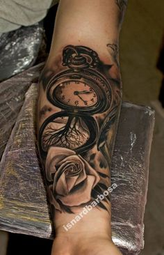 pocket watch on this ungoing sleeve project!
