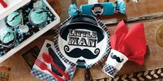 Alt. Image (2) - Little Man Mustache Party in a Box(($))