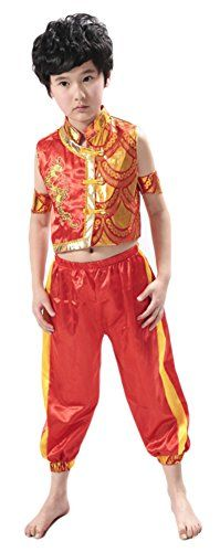AvaCostume Chinese Kung Fu Costumes 2-Piece Set for Boys AvaCostume //  sc 1 st  Pinterest & 8 best China Kung Fu images on Pinterest | Marshal arts Bruce lee ...
