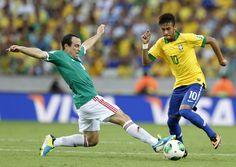 Brasil vence a México y es semifinalista - Yahoo! Deportes