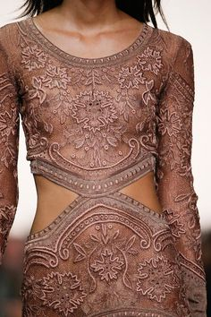 WOW~ℒᎧᏤᏋ this gorgeous rosé color dress with lace & stunning detail..absolutely beautiful ღ❤ღ