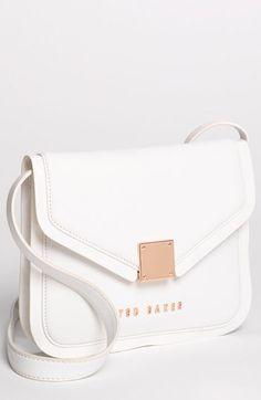 49bd44e09 Ted Baker London  Crosshatch  Leather Crossbody Bag Ted Baker Wallet