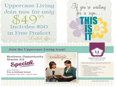 Last day for this special offer...ends at Midnight tonight!! At Uppercase Living, I've learned that what I do TODAY affects my business 90 days from now. In 90 days, you could be making money, inspiring others, have a whole new group of wonderfUL friends and feel totally empowered...but you need to sign up TODAY!!  Contact me with questions! http://tferrari.uppercaseliving.net/JoinMyTeam.m #uppercaseliving #homedecor #businessopportunity #empoweringwomen #follow #WhenWallsTalk