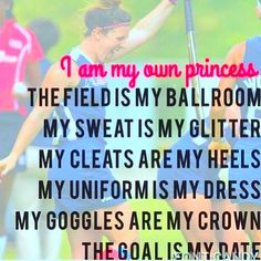 I am my own princess.