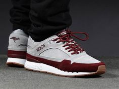 KangaROOS Rage Casual Sneakers, Leather Sneakers, Sneakers Fashion, Casual Shoes, Shoes Sneakers, Fit Body Boot Camp, Dorothy Shoes, Funny Shoes, Maurices Shoes