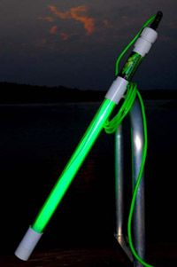 Led flounder gigging light bow fishing gigging for Crappie lights for night fishing