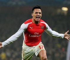 Alexis Sanchez Pamitan Dengan skuat Arsenal