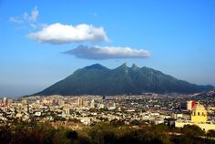 Monterrey, ciudad industrial de México.