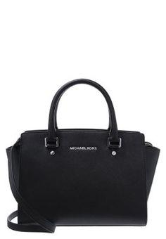Ein dezenter Klassiker für jeden Tag! MICHAEL Michael Kors SELMA - Handtasche - black für 324,95 € (19.03.16) versandkostenfrei bei Zalando bestellen.