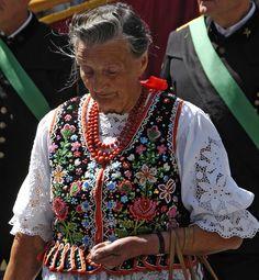 Traditional Folk Dress, Krakow | St. Stanisław procession, Poland