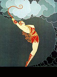 THE   DANCER  ERTE.COM AT THE THEATRE SUITE (718) 531-7830