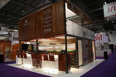 Distell Double Storey Exhibit At London Wine