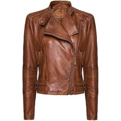 Leather Perfecto Jacket ❤ liked on Polyvore