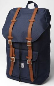 Herschel Supply Co. Little America Backpack Travel Bag - Navy Blue - Perfect for overnight travel or carry-on, the shape reminds me of a classy post-war style. Herschel Backpack, Backpack Travel Bag, Travel Bags, Fashion Backpack, Pretty Backpacks, Herschel Supply Co, Navy Blue, Mens Fashion, Shopping