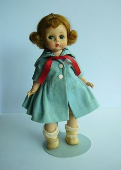 Vintage 1950s Madame Alexander Alexander-kins Doll with Original Box