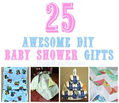 DIY baby shower gifts