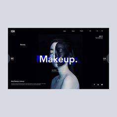 creativroom.net — Cool design by Dist Lemoto . . . Follow us ... Website Design Layout, Layout Design, Website Design Inspiration, Graphic Design Inspiration, App Ui Design, Branding Design, Pag Web, Website Color Schemes, Learn Web Design