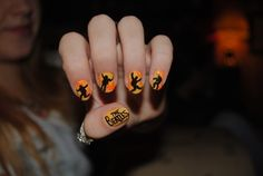 The Beatles nails...I have to try this...