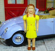 MINT! Renwal SISTER - GIRL  Doll Vintage Dollhouse Plastic Ideal Marx Tin #Renwal