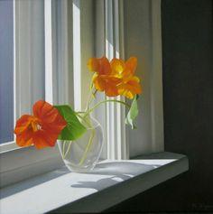 Artist Michael Zigmond's 'Nasturtiums on Windows sill' painting. http://www.chaseyounggallery.com/Artist_Profiles/Zigmond_extra/Zigmondpage1.html