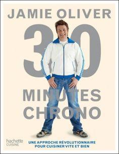 """""""30 minutes chrono"""" de Jamie Oliver > assez partagée : j'aime le concept mais je trouve les recettes pas terribles ..."""