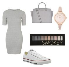 """Untitled #48"" by smithe29 on Polyvore featuring Topshop, Converse, MICHAEL Michael Kors, River Island and Forever 21"